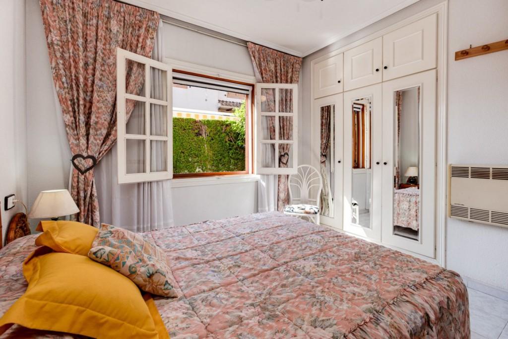 Sypialnia wnętrze.